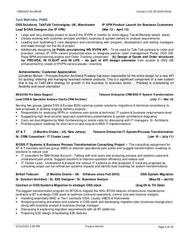 Solution Designer Resume Nmdnconference Example Resume And
