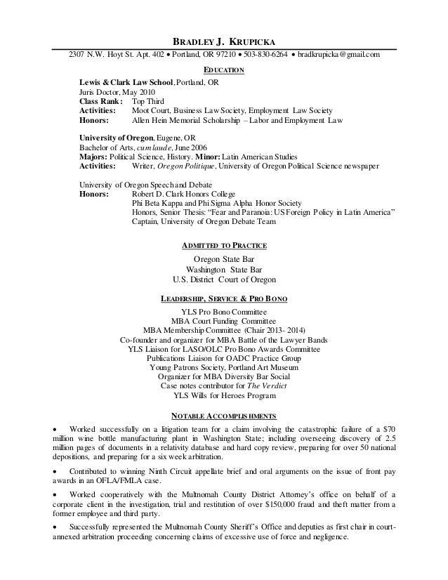 brad krupicka resume