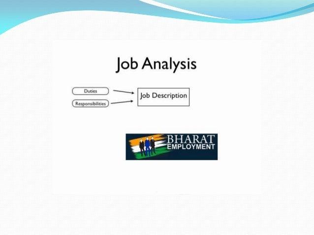 "Job Analysis  R» .  . Job Description -"""""""