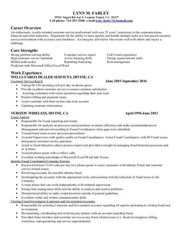 Lynn's Resume