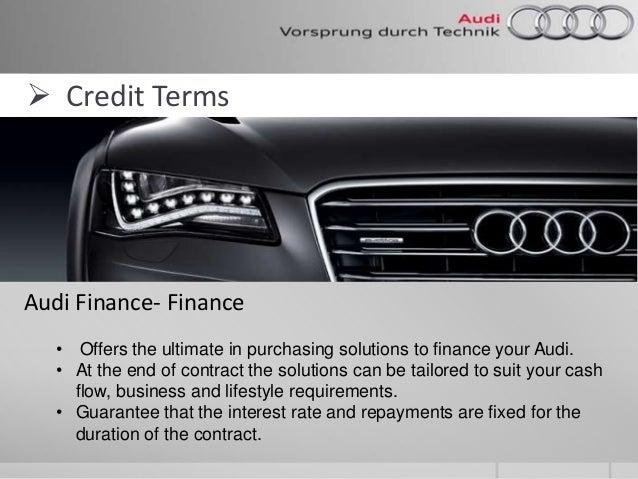 finance Blog Post List | Audi Calabasas