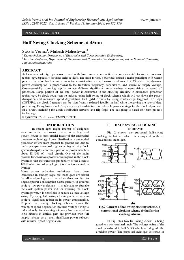 Sakshi Verma et al Int. Journal of Engineering Research and Applications ISSN : 2248-9622, Vol. 4, Issue 1( Version 1), Ja...