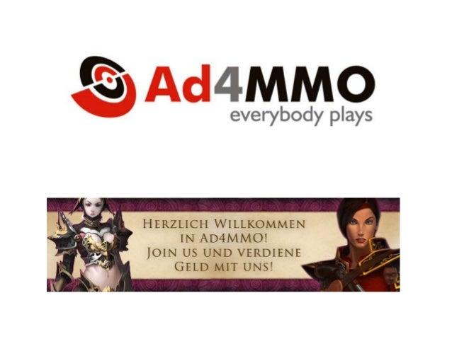 Wer sind wir?  Wir sind ein thematisches Werbenetz, das Werbekampagnender Onlinespiele (Social, Browser und Client Spiele)...