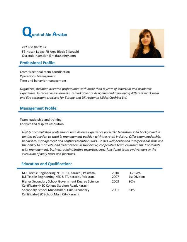 Qurat resume