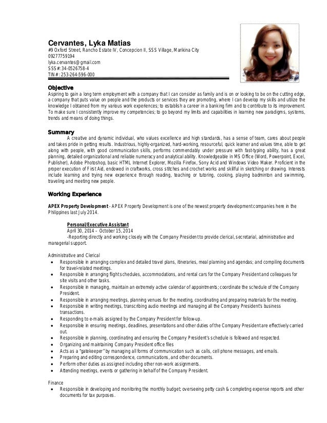 resume updated 02042015