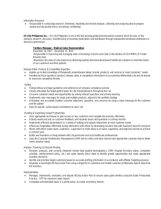 resume for production manager