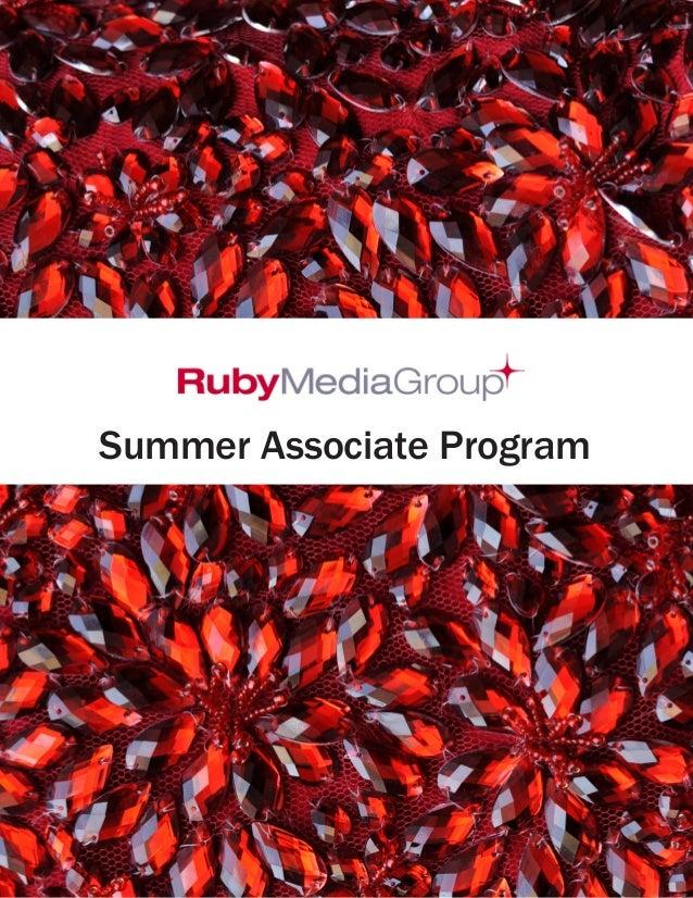 Summer Associate Program