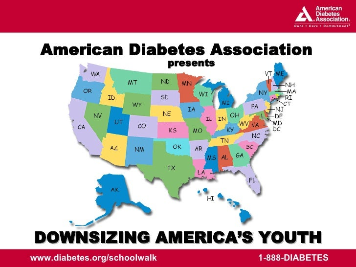 DOWNSIZING AMERICA'S YOUTH presents American Diabetes Association