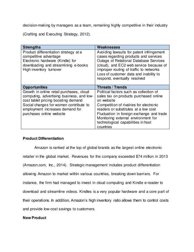 Final Business Model Essay