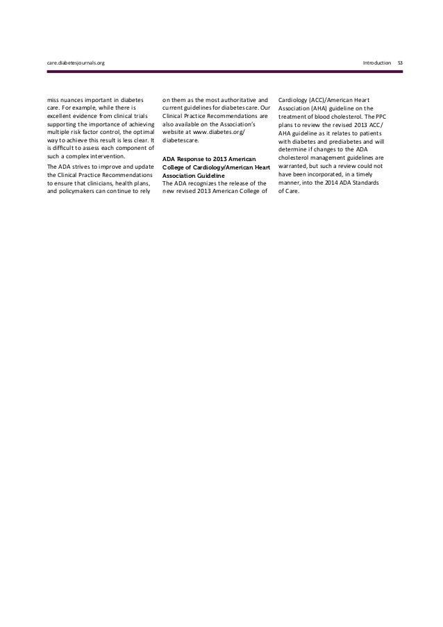 2013 acc aha cholesterol guidelines summary