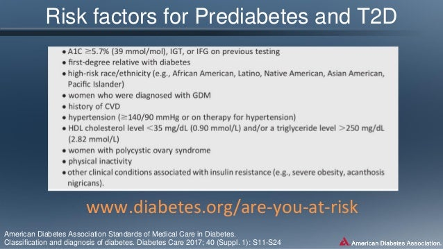 ADA 2017 standards of medical care in diabetes_Dr Selim