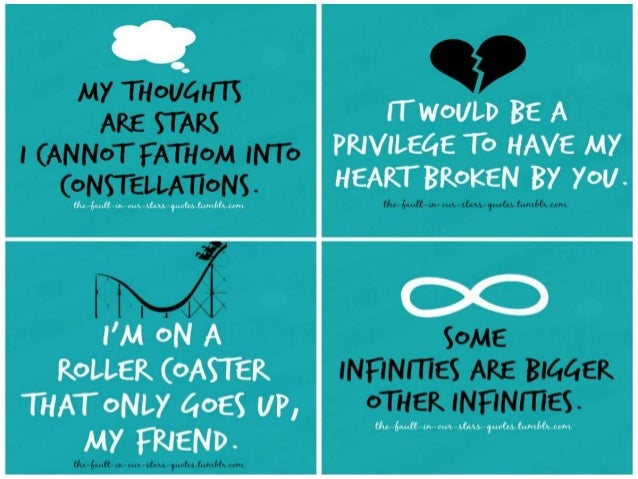 Image of: Books The End Slideshare The Fault In Our Stars