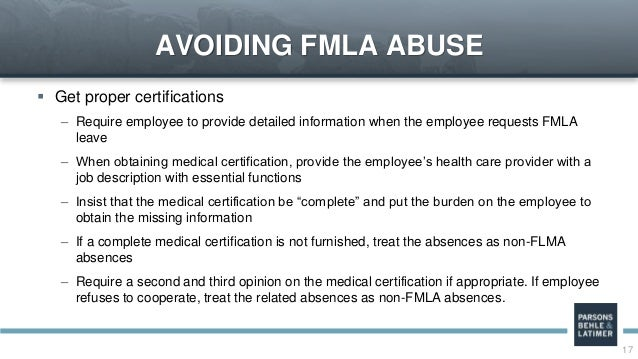 On Again, Off Again: Intermittent Leave Under the ADA and FMLA