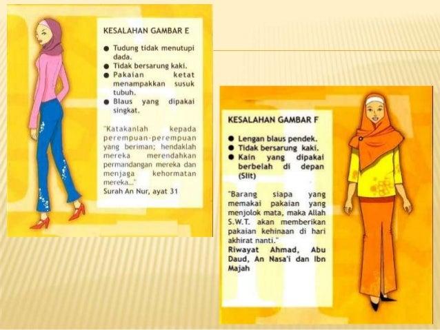 27 Pakaian Wanita Muslim Yang Benar Konsep Terkini