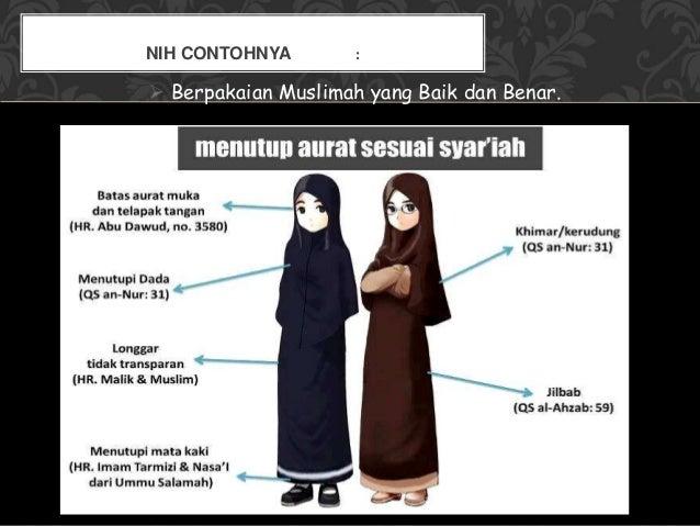 Adab berpakaian muslim