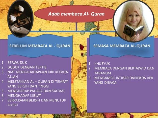 Adab Membaca Al Quran Slide 3