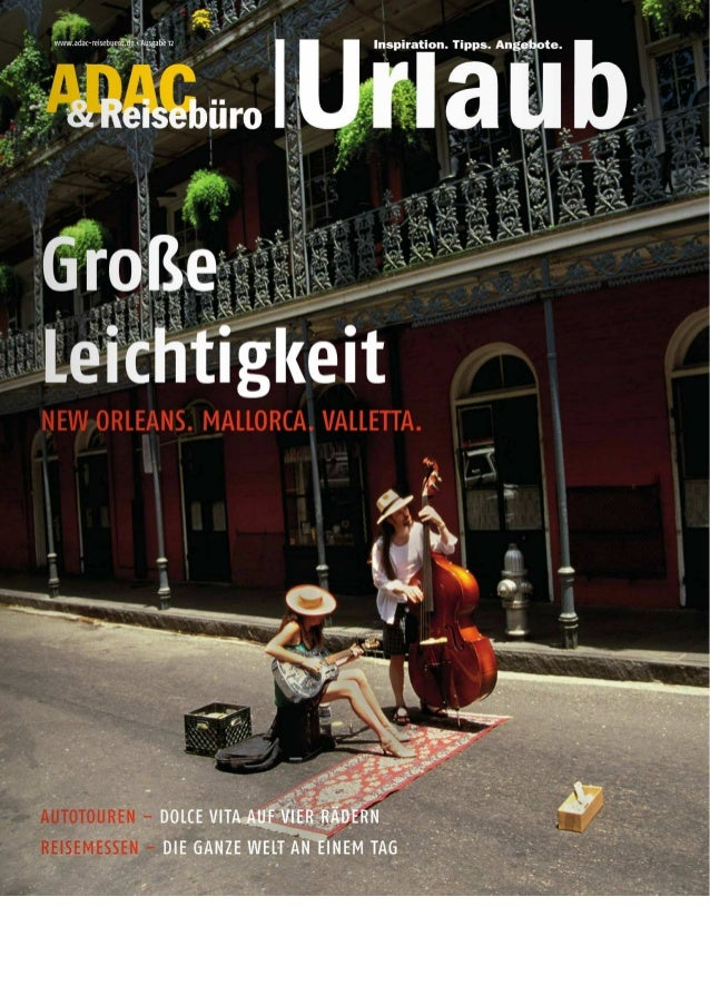 """Valletta Feature im Magazin """"ADAC Reisebüro & Urlaub"""""""