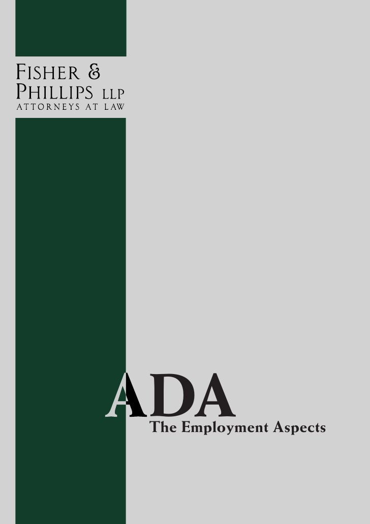 DA The Employment Aspects
