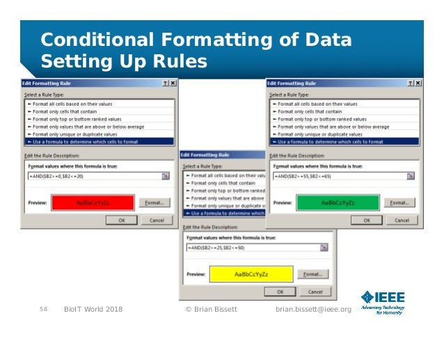 Automating Data Analysis with Excel Bio-IT World 2018
