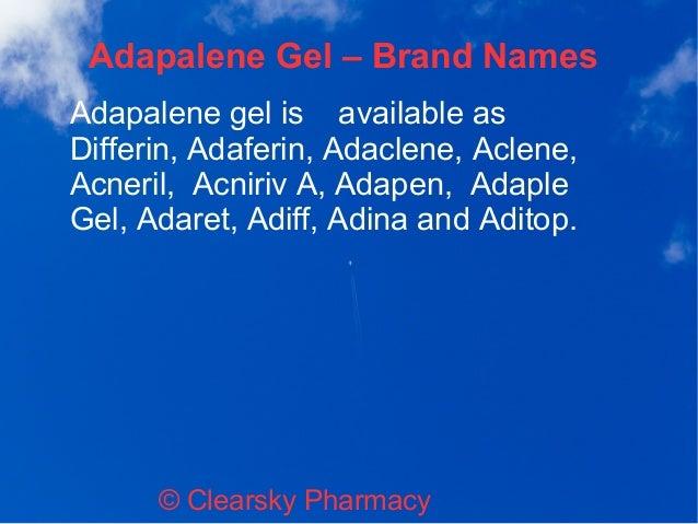 Adaferin (Adapalene Gel)