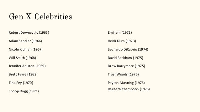 Top 5 celebrity influencers of Generation Z & millennials ...