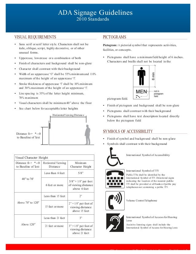Ada Guidelines