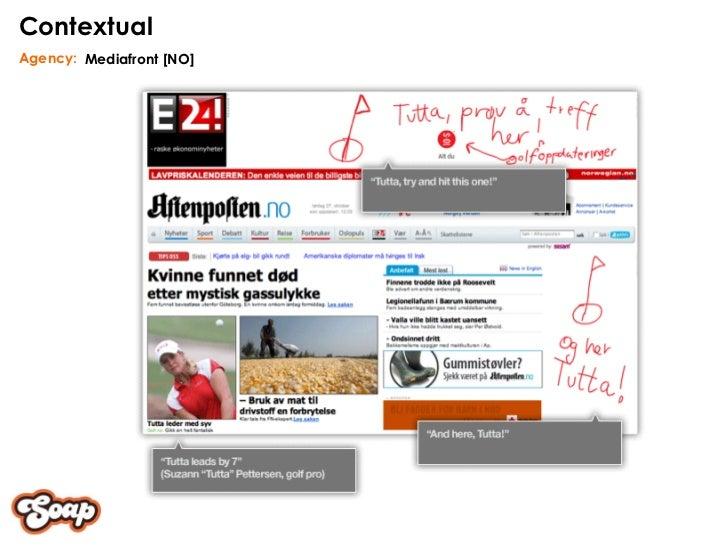 Mediafront [NO] Agency: Contextual