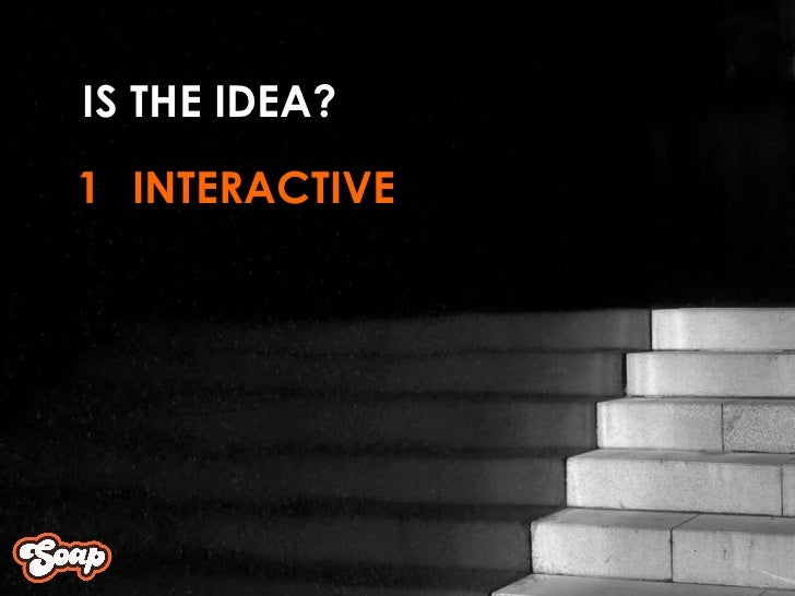 INTERACTIVE 1 IS THE IDEA?