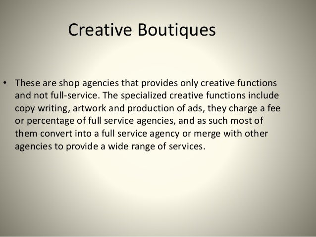 Creative Advertising Definition