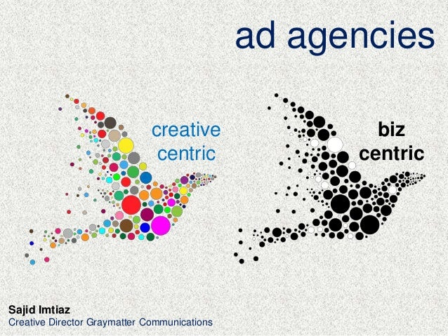 ad agencies creative centric Sajid Imtiaz Creative Director Graymatter Communications biz centric