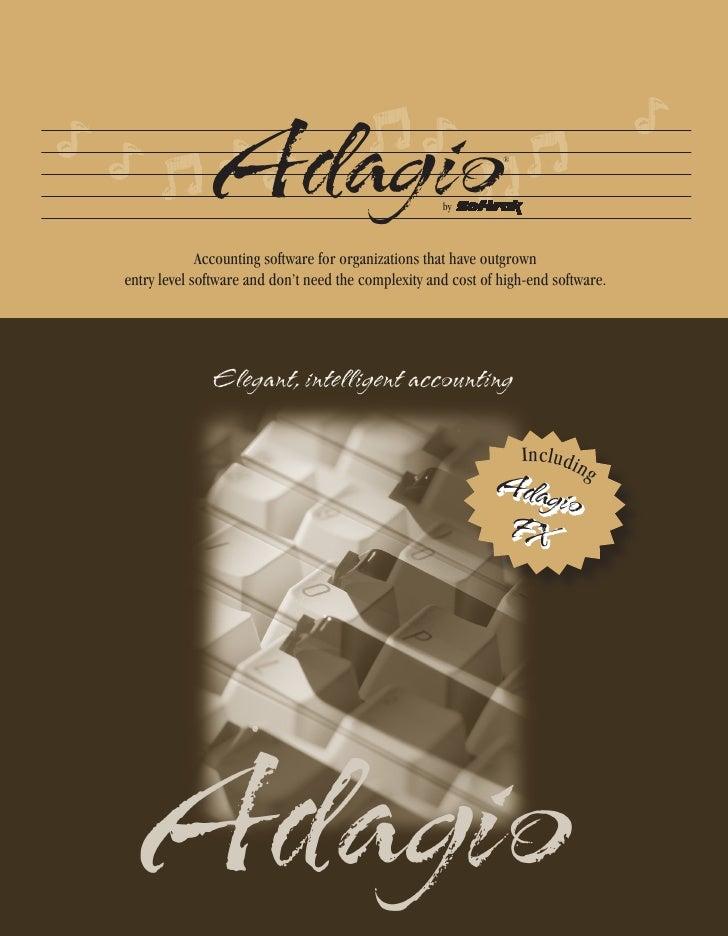 Adagio                                by                                                                ®                 ...