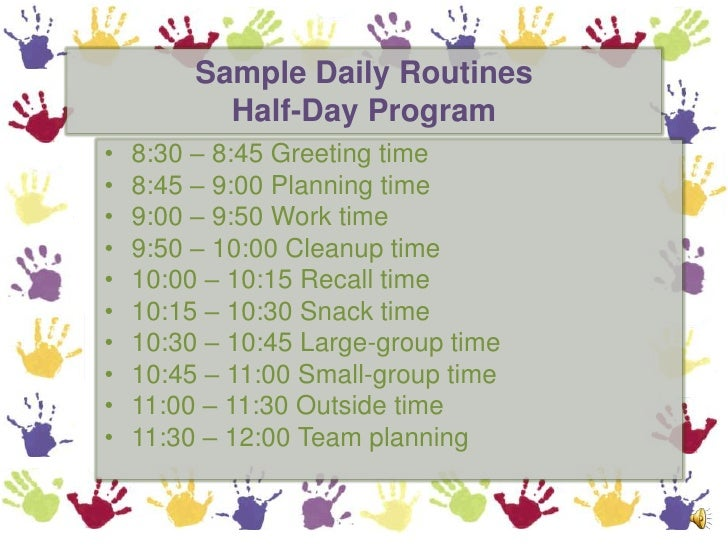 how to make an effective time schedule