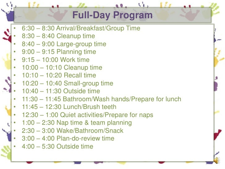 A Preschool Daily Routine & Effective Transitions