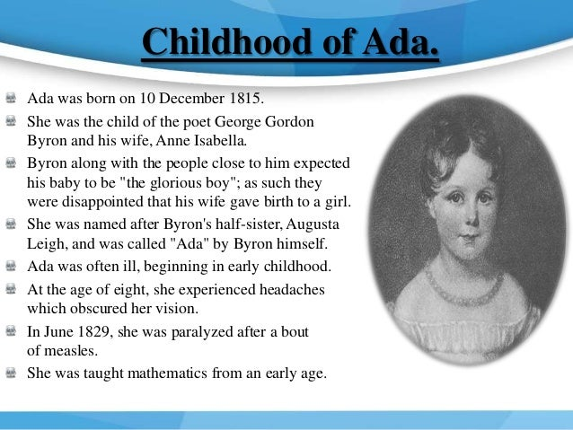 Ada Lovelace-The First Programmer