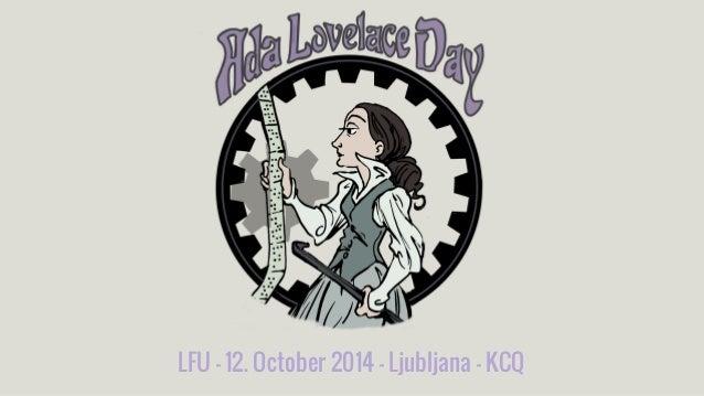 LFU - 12. October 2014 - Ljubljana - KCQ