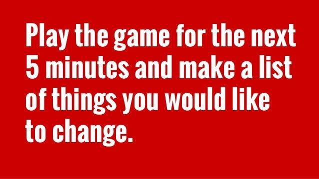 Let's do it...