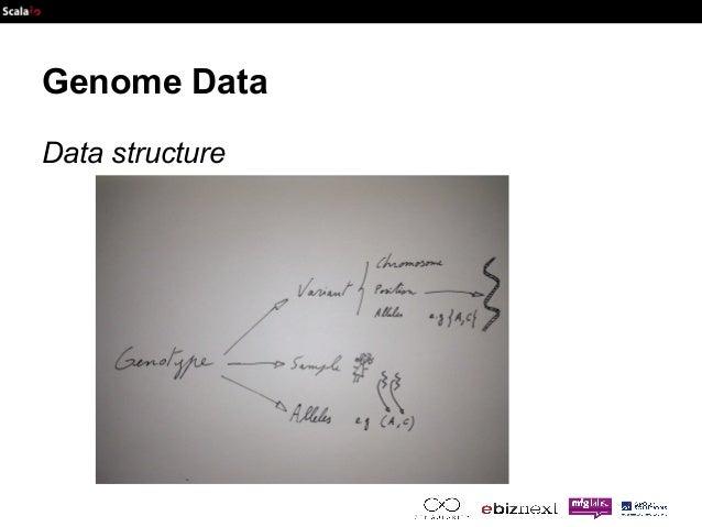 Genome Data  Data structure