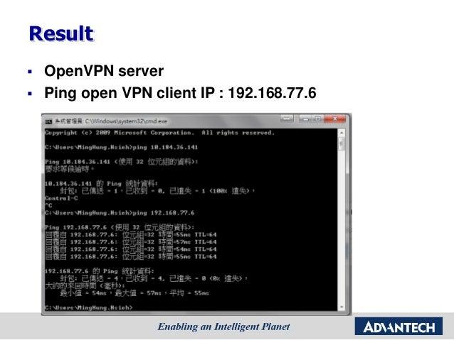 Advantech] ADAM-3600 open vpn setting Tutorial step by step