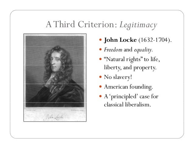 the differences and similarities of liberalism of john locke and adam smith John locke published his second treatise of government in 1690 in it, he argues that the only role of government is to protect our natural rights, namely the rights to lives, liberties and estates [source: boaz .