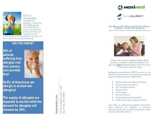 MaxiMed Allergy-Brochure-for-physician offices