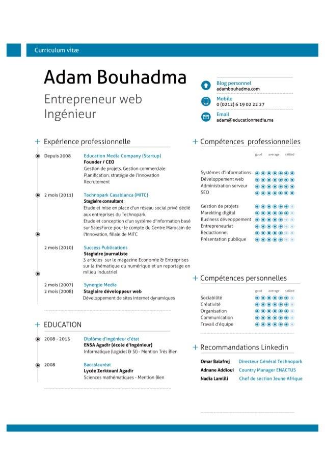adam bouhadma cv