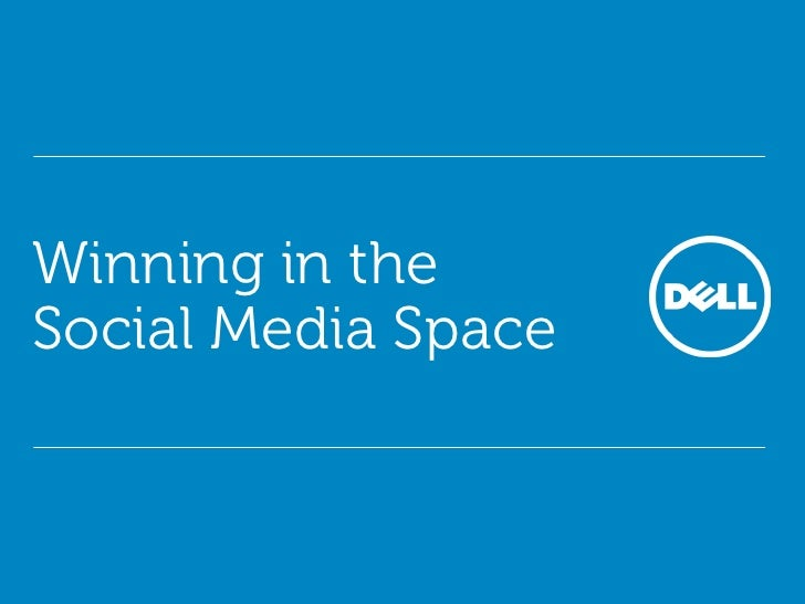 Winning in the Social Media Space