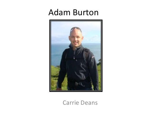 Adam BurtonCarrie Deans