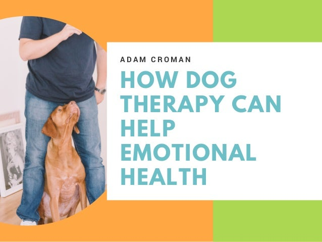 HOW DOG THERAPY CAN HELP EMOTIONAL HEALTH A D A M C R O M A N