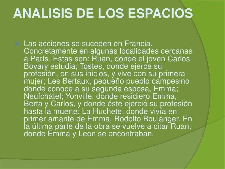ANALISIS DE LOS ESPACIOS<br />Las acciones se suceden en Francia. Concretamente en algunas localidades cercanas a París. É...