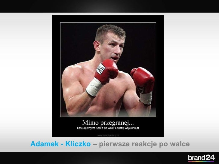 Adamek - Kliczko  – pierwsze reakcje po walce