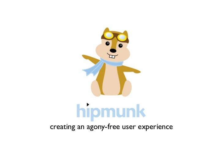creating an agony-free user experience
