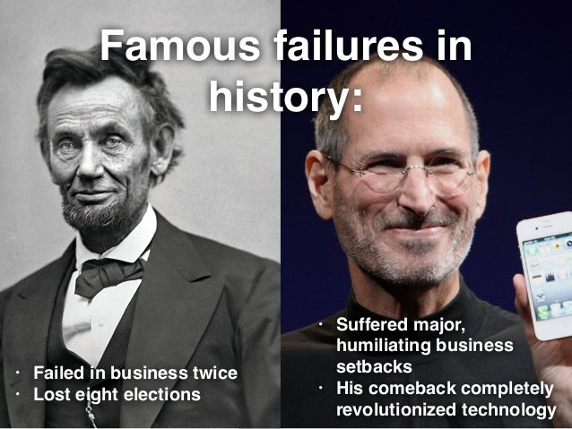 Failure in History