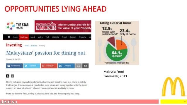 8 OPPORTUNITIES LYING AHEAD Malaysia Food Barometer, 2013