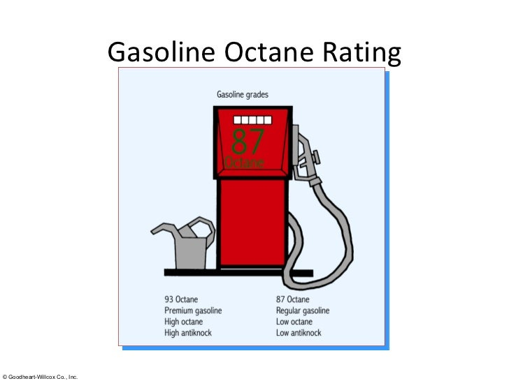 octane and cetane numbers